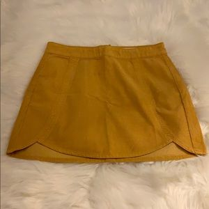 Corduroy Skirt from PacSun